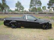 2009 Holden Commodore VE MY09.5 Omega Black 6 Speed Manual Utility Mayfield East Newcastle Area Preview