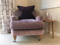 ***REDUCED*** Beautiful Laura Ashley Chair and Ottoman/Footstool