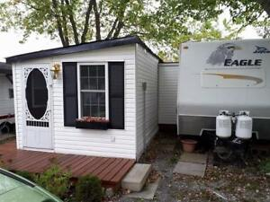 32' Jayco and Addition Room at Lake Erie Trailer Park