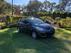 2011 Mazda 2 DE10Y1 MY11 Neo Grey 5 Speed Manual Hatchback Capalaba Brisbane South East Preview