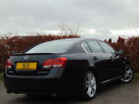 LEXUS GS 3.5 450H SE-L 4d AUTOMATIC (black) 2006