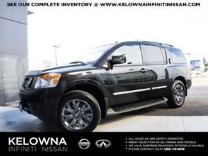 2015 Nissan Armada Platinum Reserve w/Captain Chairs