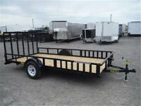 7 x 14 Utility Trailer - Perfect for ATVs *Side Ramps* TAX IN!!