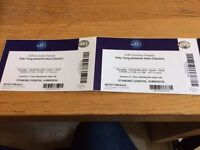 2 x Pete Tong Classical tickets 02 Arena Thursday 1st December STANDING LESS THAN FACE VALUE