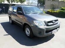 2010 Toyota Hilux TGN16R 09 Upgrade Workmate Tungsten 5 Speed Manual Melrose Park Mitcham Area Preview