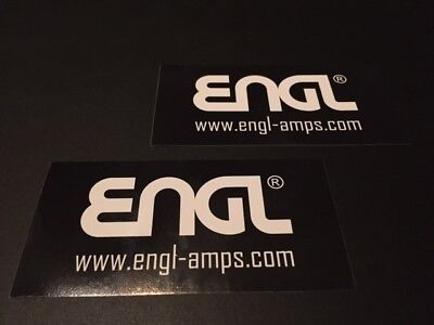 Engl Guitar Amplifiers - ENGL Guitar Amplifiers 2pc Sticker Set