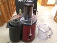Almost brand new Andrewjames juicer