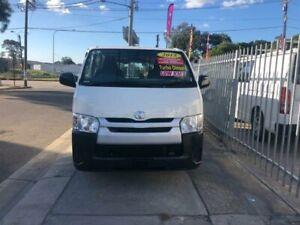 2015 Toyota HiAce KDH201R MY15 LWB White 4 Speed Automatic Van Lidcombe Auburn Area Preview