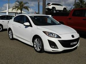 2009 Mazda 3 BL SP25 White 6 Speed Manual Sedan South Nowra Nowra-Bomaderry Preview