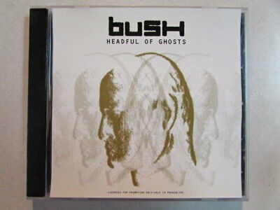 BUSH HEADFUL OF GHOSTS 2001 RADIO REMIX (4:18) PROMO ONLY CD SINGLE PRCD-300726
