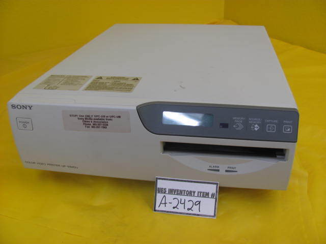 Sony UP-51MDU Color Video Printer RM-5500 working