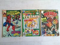 Vintage MARVEL Comic Books (3)