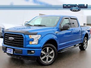 2015 Ford F-150 XLT, 301A SPORT, BACKUP CAM, TOW PKGE