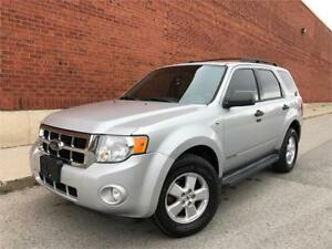 2008 FORD ESCAPE XLT *LEATHER,SUNROOF,LOADED,SERVICE RECORDS!!!*