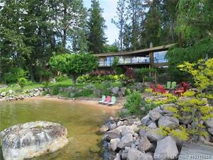 A spectacular .775 acre waterfront property