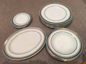 *LOWEST PRICE* MYOTTS ROYAL CROWN Antique China For Sale!
