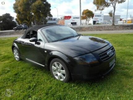 2005 Audi TT Black Sports Automatic Roadster Mile End South West Torrens Area Preview