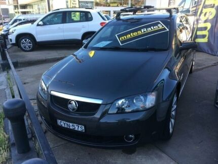 2009 Holden Calais VE MY09.5 V Sportwagon Charcoal 5 Speed Sports Automatic Wagon