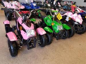Kids Electric Quad/ATV w/Reverse- for only $545 - on Sale  !!!