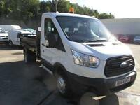 Ford Transit 350 MWB S/Cab Tipper Tdci 100Ps DIESEL MANUAL WHITE (2014)