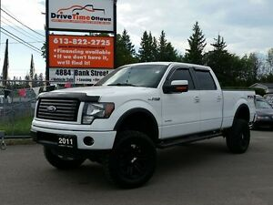 "2011 Ford F-150 FX4 CREW 4X4 ""LIFTED"""