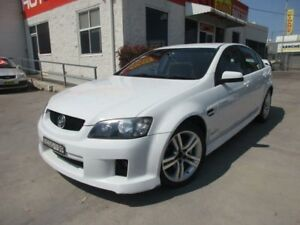 2009 Holden Commodore VE MY10 SV6 White 6 Speed Auto Sports Mode Sedan