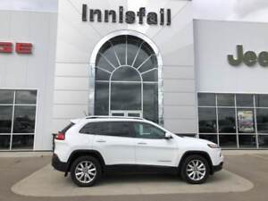 2015 Jeep Cherokee Limited Loaded  4x4 Blind Spot Nav Power Tail
