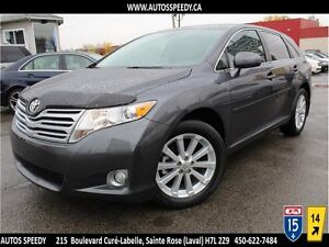 2010 TOYOTA VENZA AWD/CAMERA/TOIT PANORAMIQUE/CUIR CHAUFFANT