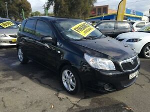 2012 Holden Barina TK MY11 Classic Black 4 Speed Automatic Hatchback Lidcombe Auburn Area Preview