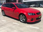 2012 Holden Commodore VE II MY12 SV6 Sportwagon Red 6 Speed Sports Automatic Wagon Muswellbrook Muswellbrook Area Preview