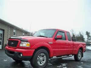 easy to finance! 2009 Ford Ranger Sport- 103 km! , toolbox inclu