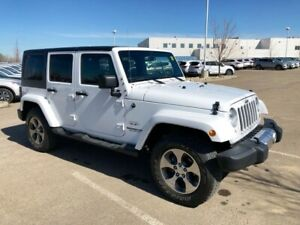 2017 Jeep Wrangler Unlimited Sahara - 4WD, Four Door!