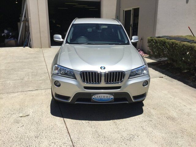 2012 BMW X3 F25 XDrive 30D Silver 8 Speed Automatic Wagon Maroochydore Area Image 2