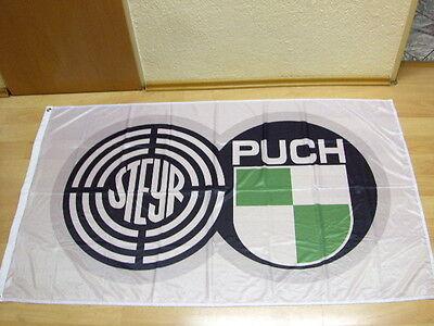 Fahnen Flagge Steyr Puch - 90 x 150 cm