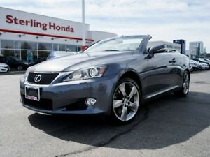 2012 Lexus IS 350C BASE 2DR CONVERTIBLE | 1 OWNER | NO ACCIDENTS