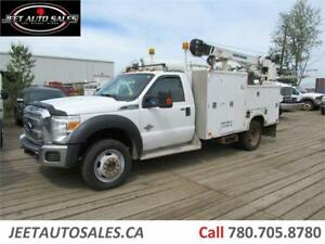 2013 Ford Super Duty F-550 DRW XL , 11 ft western service body