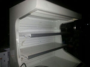 HUSSMANN GSVM-4060 OPEN COOLER 115V - used - very clean