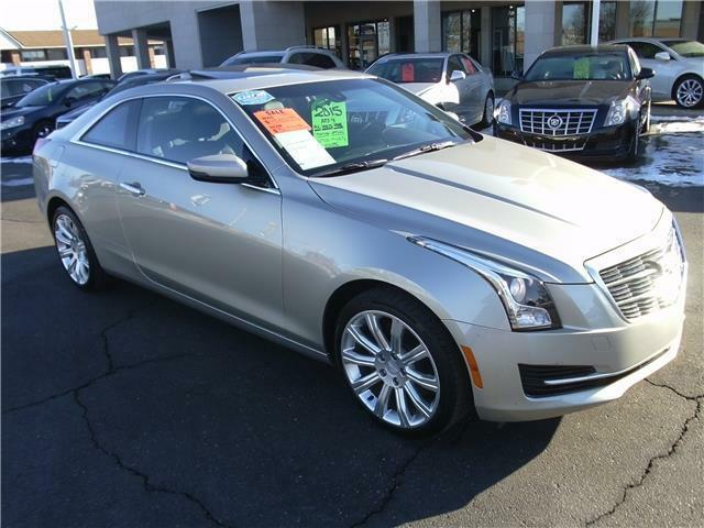 2015 cadillac ats 4 coupe all wheel drive used cadillac other for sale in saint clair shores. Black Bedroom Furniture Sets. Home Design Ideas