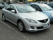 2009 Mazda 6 GH MY09 Classic Silver 5 Speed Auto Activematic Hatchback Maidstone Maribyrnong Area Preview