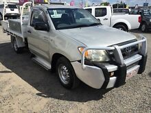 2005 Toyota Hilux GGN15R MY05 SR Silver 5 Speed Automatic Cab Chassis Rocklea Brisbane South West Preview