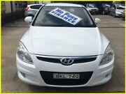 2009 Hyundai i30 FD MY09 SLX 1.6 CRDi White 4 Speed Automatic Hatchback Kogarah Rockdale Area Preview
