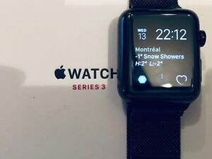 Apple Watch Series 3 - 42mm - GPS + cellulaire