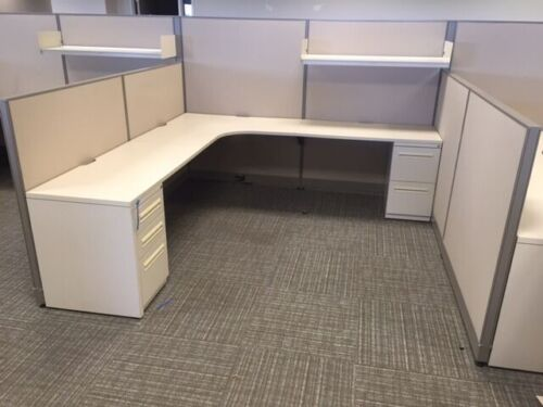 Used Office Cubicles, Haworth Unigroup Too Cubicles 8x8