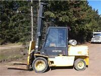 2000 hyster 11,000lb forklift REDUCED TO CLEAR!!