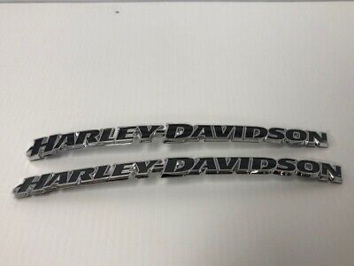 NEW Harley Davidson Breakout Tank Emblem Set- Right & Left