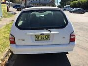 2006 Ford Falcon BF MkII XT (LPG) White 4 Speed Auto Seq Sportshift Wagon Islington Newcastle Area Preview