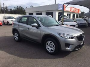 2012 Mazda CX-5 KE1071 Maxx SKYACTIV-Drive AWD Silver 6 Speed Sports Automatic Wagon