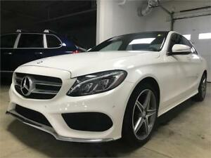 2015 Mercedes-Benz C-Class C 400 4Matic AMG pkg, No accident