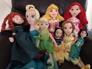 Disney Princess plush dolls for sale