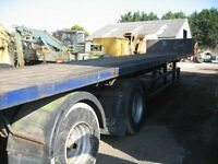 40ft Tandem Axle PSK Trailer, 12 Twist Locks, Steel Suspension, Multi Leaf Springs